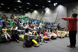 高雄電影館打造親子同樂「長短咖電影院」