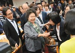 陳菊份量夠 看她如見總統