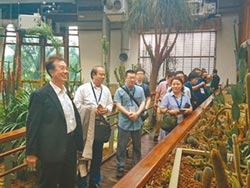 兩岸徵文訪花博 體驗台綠色生活