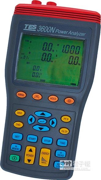 三相電力品質分析儀深獲好評 泰仕電子 推節電優質幫手