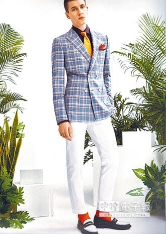 紳裝西服夏季面料 混搭風吸睛