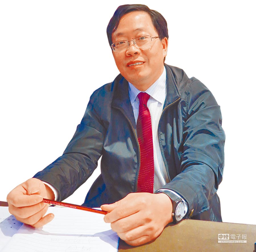 上海社科院台研中心主任盛九元。(本報資料照片)