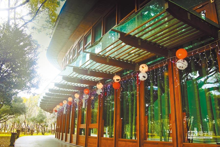 花博公園天使生活館。(本報系資料照片)