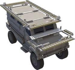 美國主防系統「鐵幕」 使車輛炮彈不侵