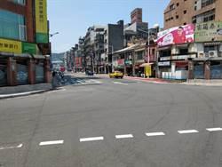 基隆孝二路人行道施工 6月3日前車道縮減