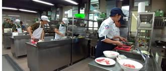 廚藝大賽!國軍伙房兵PK正修科大餐飲管理系學生