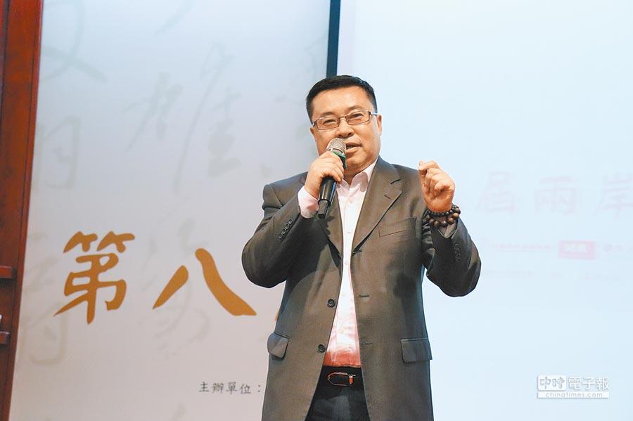 鳳凰網副總裁鄒明。(記者呂佳蓉攝)