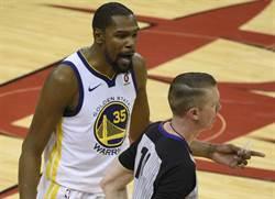 NBA》糟糕開局扛責 杜蘭特:我們並非無敵