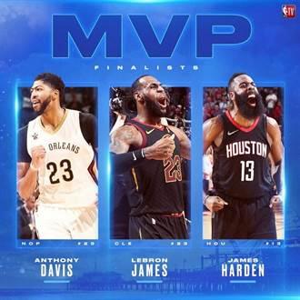 NBA》你會選誰?聯盟公布各獎項候選名單