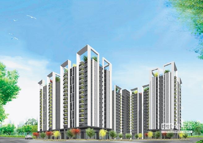位於北屯區的「總太2020」預售案,基地共1.2萬坪,首期開發面積就達6100坪,屬於520超級大案。 圖/黃繡鳳