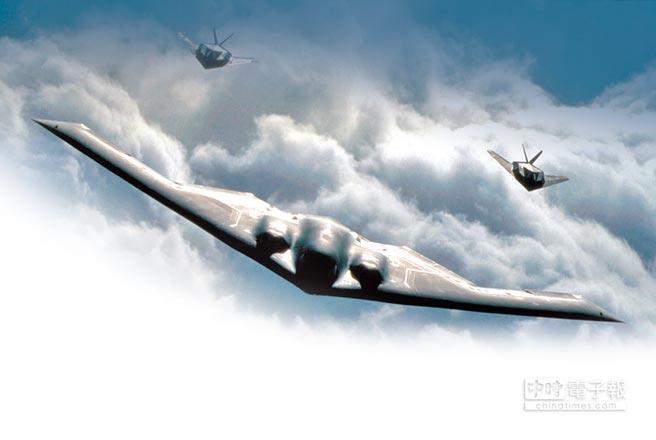 B-2美國轟炸機的一個重要里程碑。(取自美國海軍官網)