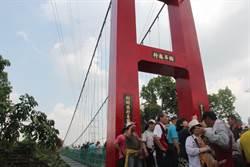 台南東山吊橋通了 串起昔日古香路