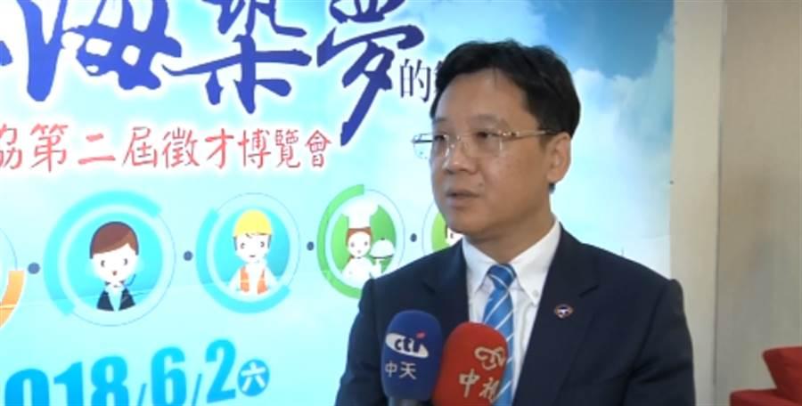上海台商協會會長李政宏。(圖/中天新聞)