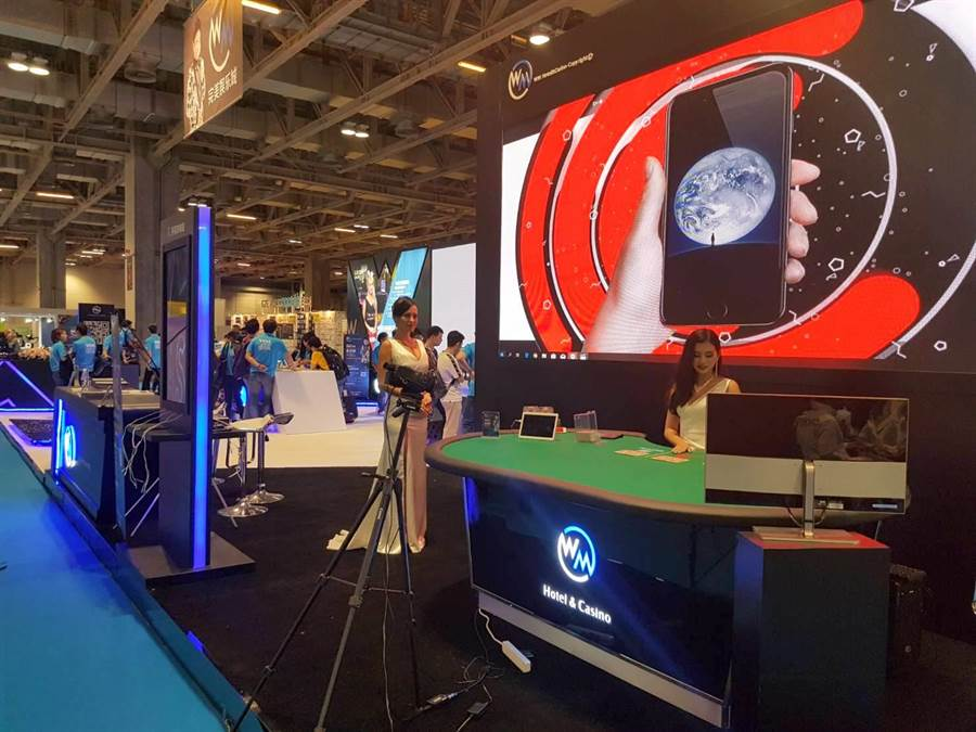 利鑫集團也在柬埔寨西哈努克建造經營WM賭場酒店,強打遊戲視訊系統。(劉宥廷攝)