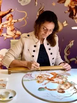 麥森找來彩繪大師坐鎮 打造錦繡麥森特展