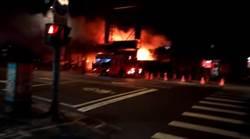 台北市南港汽修廠暗夜遭祝融  老闆死亡