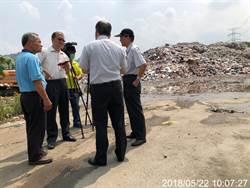 南投垃圾堆置 環保署協調外縣市增加焚燒量