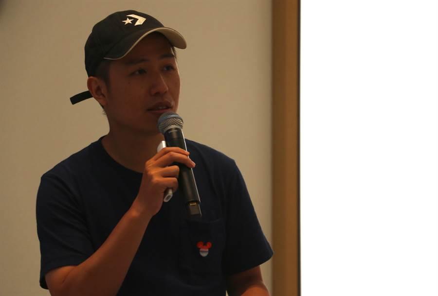 盧廣仲「明仔載」MV導演廖明毅。(圖/黃慧雯攝)