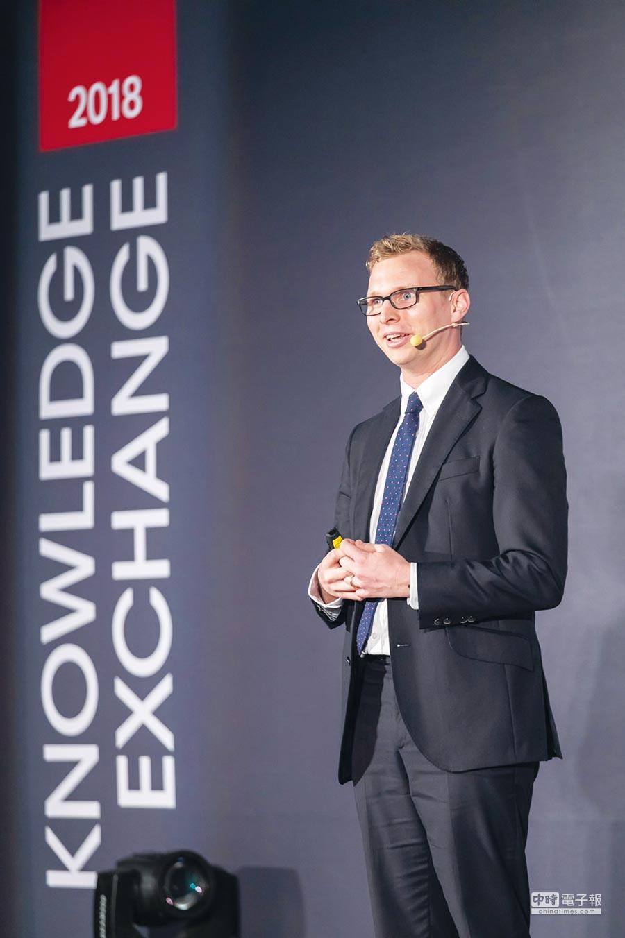 駿利亨德森歐洲股票客戶組合經理人Richard Brown。圖/業者提供