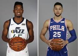 NBA》班西蒙斯與米契爾全票入選年度新秀第一隊