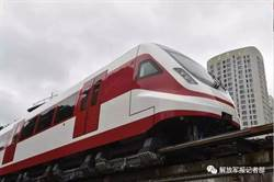 陸新型磁浮列車試驗成功 時速160公里以上