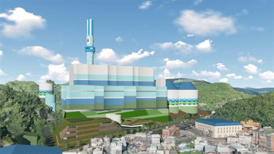 李富城表示,再多燒一些〔乾淨的煤〕,看會旱到幾月。(圖/台電提供)