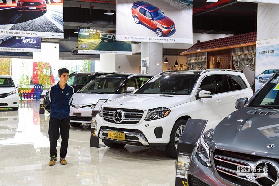 自2006年7月以來,中國整車進口關稅稅率一直穩定在25%,美歐日多國則是一直要求中國必須調降汽車進口關稅。圖/中新社