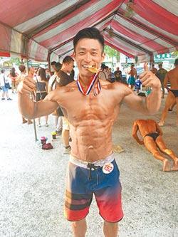 全國健美賽 消防猛男奪冠