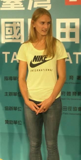 台灣田徑公開賽 拉脫維亞美女對鄭兆村印象深刻