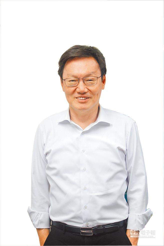 董事長蘇起。(楊家鑫攝)