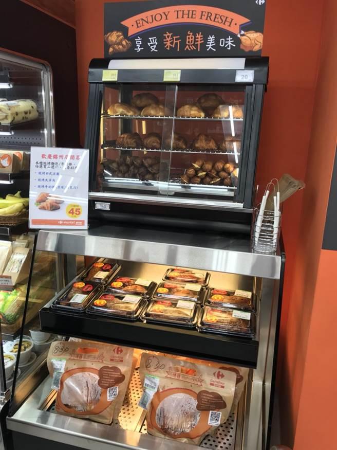「熟食區」提供現烤烤雞、雞腿、雞翅等。圖/業者提供