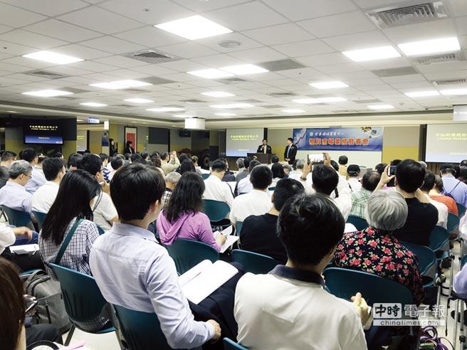中裕昨(24)日業績發表會,現場大爆滿。圖/杜蕙蓉
