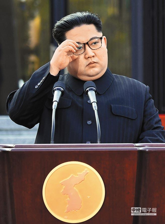 北韓最高領導人 金正恩  (法新社)