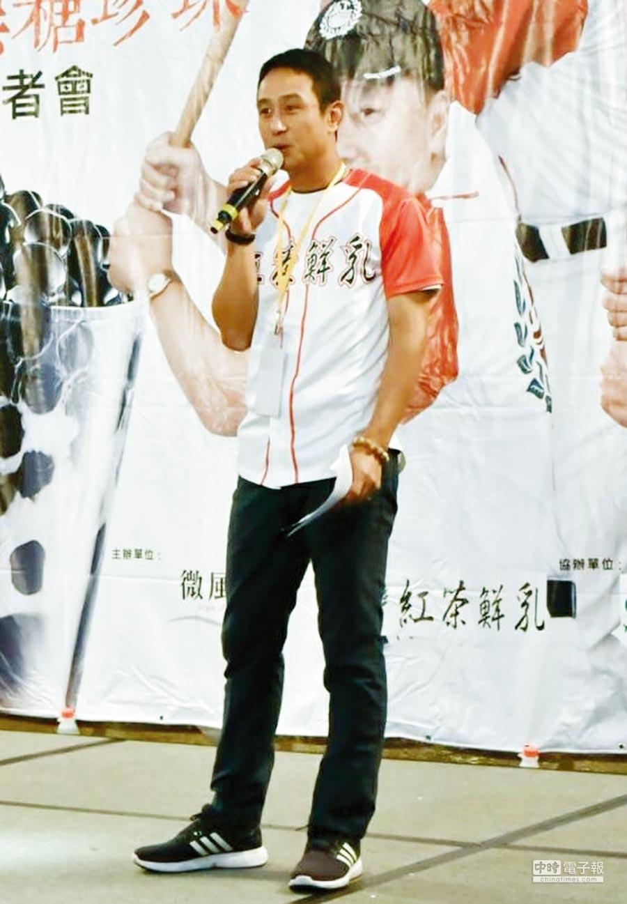 微風源總經理楊麒翰協助更多職棒退役球員,發揮所長再創事業高峰。圖/陳又嘉