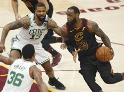 NBA》詹姆斯超神勇 騎士宰綠衫軍保住生機