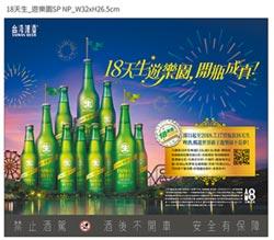 買18天生啤酒 抽暢玩東京迪士尼