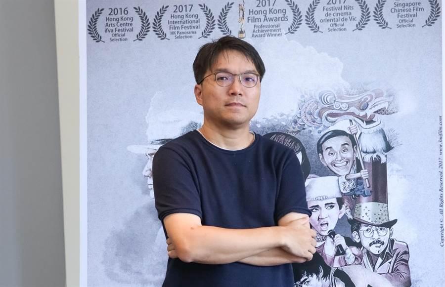 許思維拍攝《海報師》記錄阮大勇的一生。(攝影記者 蘇蔓)