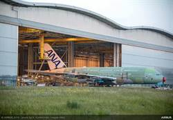 首架全日空A380出廠   預計明年交機後飛東京-檀香山航線