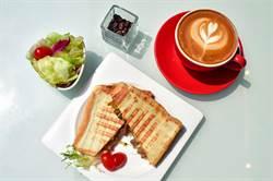 天成大飯店TICC世貿會館下午茶推「櫻桃鴨熱壓三明治」