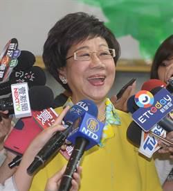 呂秀蓮退黨 友人:年輕人不支持民進黨 揹著是包袱