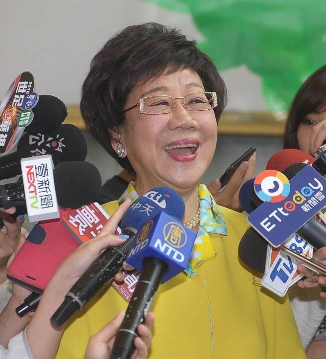 前副总统吕秀莲。(图/本报资料照片,季志翔摄)