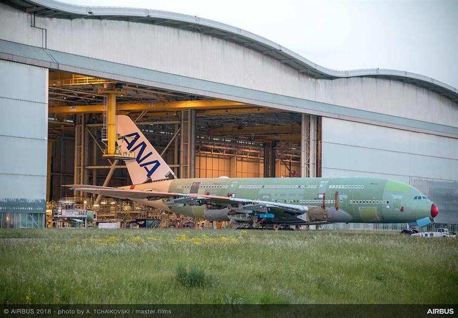 全日空這架全球最大型雙層客機,將飛日本旅客熱愛的夏威夷檀香山。圖:業者提供