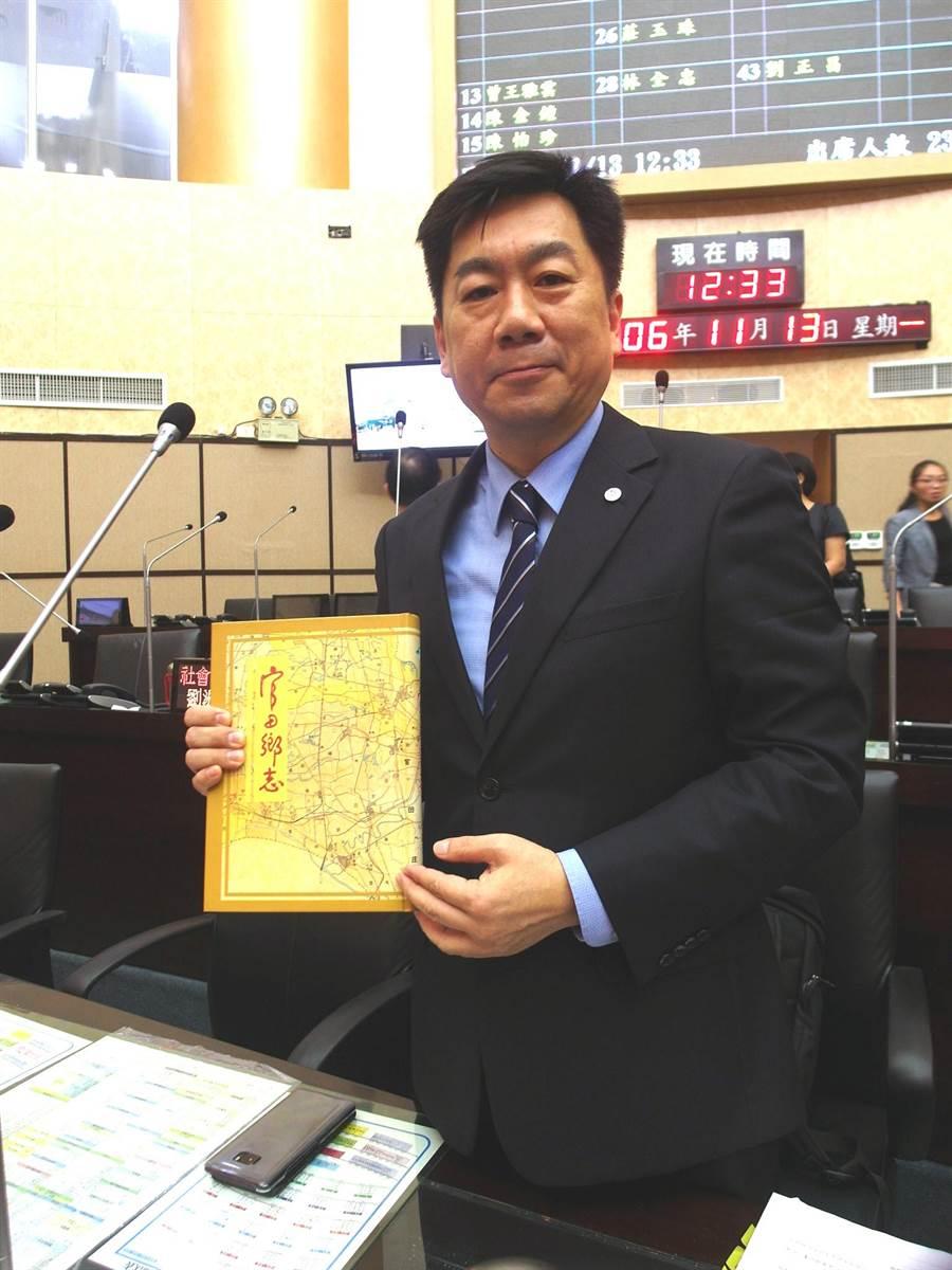 台南市政府民政局長陳宗彥將接任內政部政務次長。(資料照片,洪榮志攝)