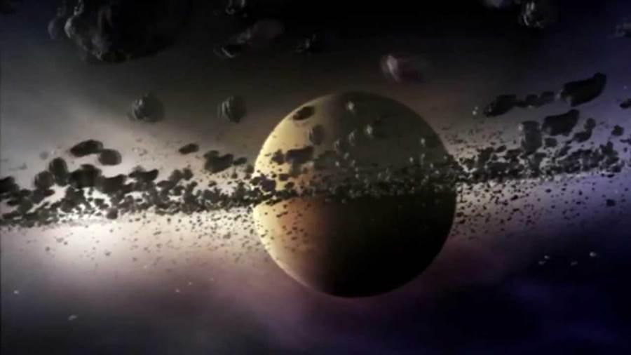 天文學家倫納德-古柏推測,在海王星之外有一群冰屑與碎岩石的物質,可以說是太陽系的用剩材料,包括冥王星、彗星都是這些物質所形成的,現在這個說法愈來愈得到證實。(圖/NASA)