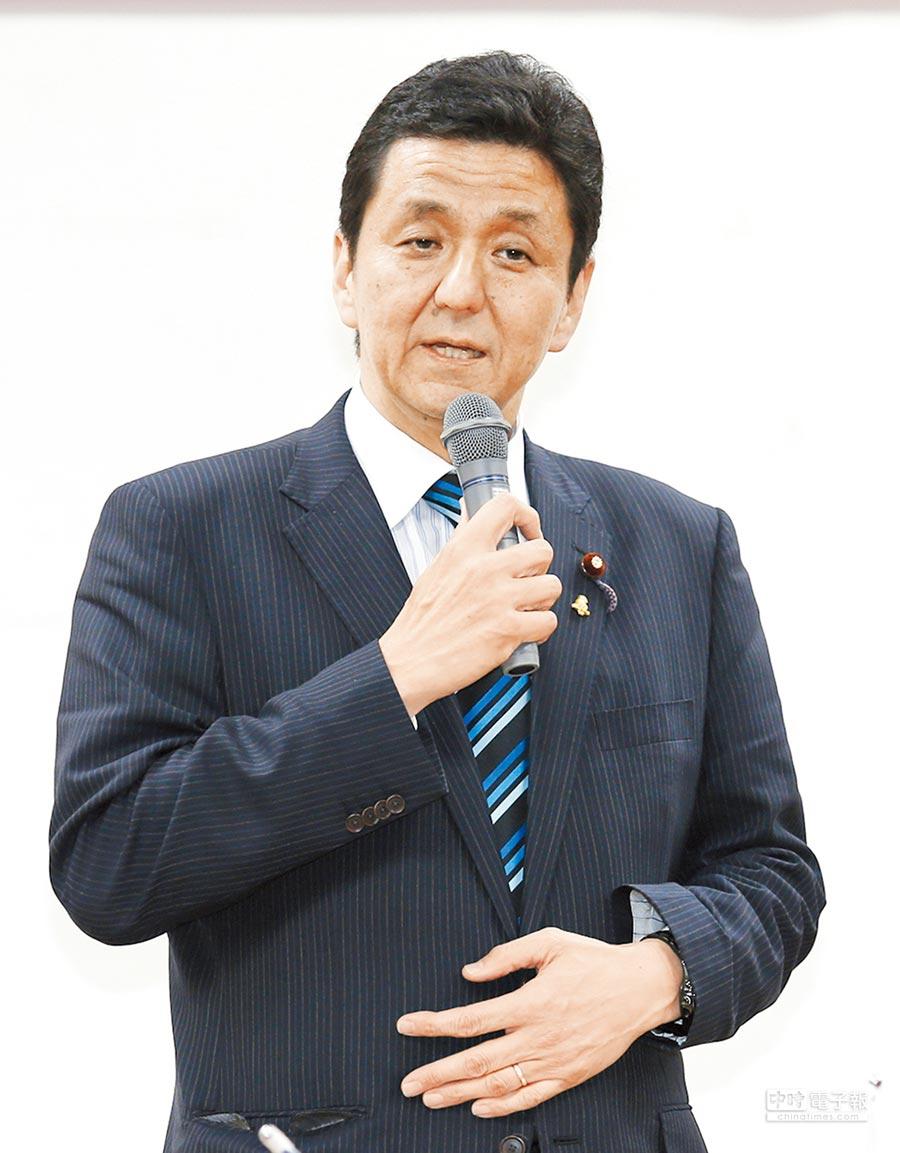 日本版「與台灣關係法」主要推手是岸信夫。(本報系資料照片)