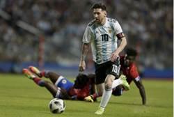 世足人物》梅西帽子戲法+助攻 阿根廷4比0大破海地