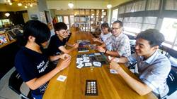 陳定南教育基金會 導入桌遊辦營隊