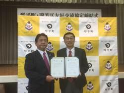 瑞芳區與日本香川縣琴平町 簽署友好交流協定書
