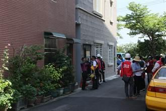 台南汙水道用戶接管拆除作業遇釘子戶 31日強拆