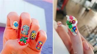 指彩也要跟著穿搭換季!做完指甲絕對天天看手發呆,美到吃手手!